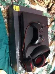 Xbox one x 1 tb NOVO