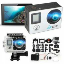 Web Cam Câmera Filmadora Esportiva Prova Dágua Action 4k 30fps Wifi