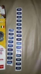 Selos campanha cerâmica italiana 25 selos