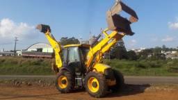 Retro Escavadeira JCB 4cx Ano 2010 tração 4x4 concha 6x1