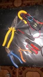 Eletricista. Chuveiro. Tomada 220v.Manutencao.luminarias