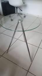 Mesa lateral de vidro (Tok&Stock)