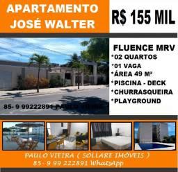Vendo Apartamento no José Walter Com 02 Quartos e Lazer Completo