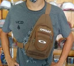 Pochete Refletiva Bolsa Lateral Shoulder Bag Bolsa Mascuina e Feminina