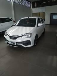Toyota Etios 1.5 automático 2018, única dona .