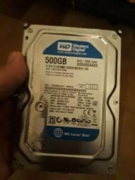 hd de 500 gb com garantia aceito cartao<br>