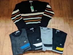 Suéter masculino várias estampas!