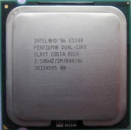 Processador Intel Dual Core E5200