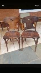 Par de cadeiras antiga
