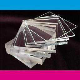 Chapas de acrílico Cristal 3mm - 40x40cm