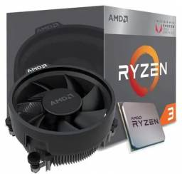 processador ryzen 2200 G + cooler hyper t4