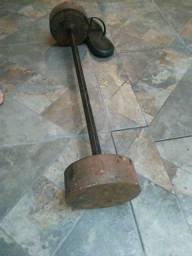 Peso de 20 kg de aço (barato pra torra)