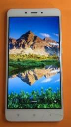 """Smartphone Xiaomi 64gb Note 4 aluminio Deca-core 3gb 5.5 12mp Dual biometria senha"""