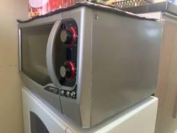 Forno Elétrico Fischer Gourmet Grill Inox- Grande (44L)  - 110V