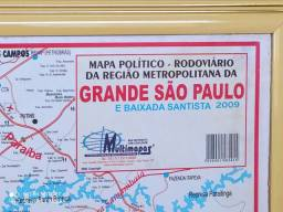 Mapa Grande São Paulo