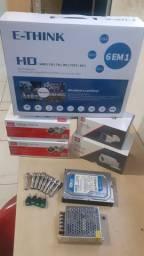 KiT completo Dvr câmeras + instalação inclusa no local