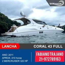 Lancha Coral 43 Full ñ Real,Sessa,Triton,Phantom