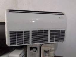 Ar condicionado split piso teto de 36.000 btus com garantia e higienizado