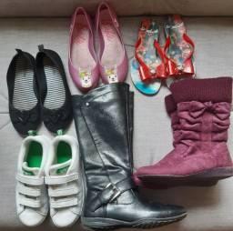 Lote Calçados Menina 31