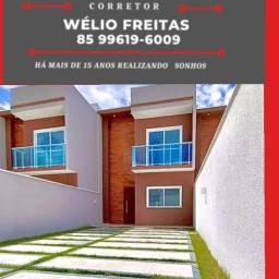 WF- Novo modelo de casa disponível na região do Eusébio