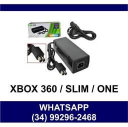 Fonte de Energia Xbox 360 * Xbox Slim Bivolt * Fazemos Entregas
