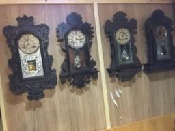 Relógio parede antigo Carrilhao novo