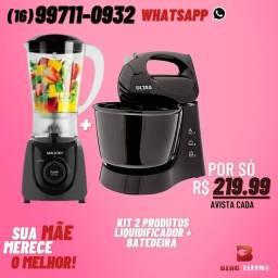 Liquidificador + Batedeira Kit 2 produtos Promoção