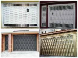 Portões portas grade basculante telhados faço tudo de serralheria zap *