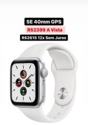 Apple Watch S6 SE 40mm Novo Garantia 1 Ano - 12x Sem Juros