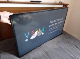 TV Led Samsung 46p FullHD com Chromecast (Smart)