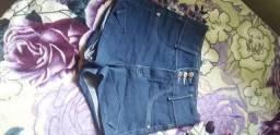 Short jeans semi novo tamanho 40