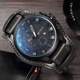 Relógio Currren Militar/Lux a prova d'agua