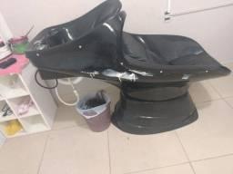 Lavatório cabeleireiro ou barbeiro.