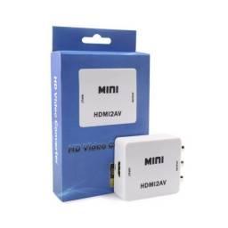 HDMI para RCA/AV - Entregamos no seu endereço HOJE