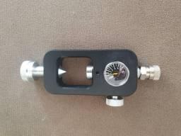 Adaptador de cilindro de ar comprimido