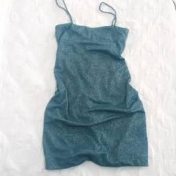 Vestido Lurex azul - Surreal