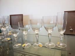 Jogo 30 taças cristal Strauss