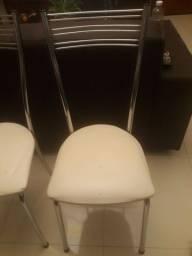 Conjunto de 2 Cadeiras Inox