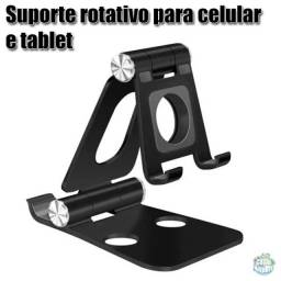 Suporte rotativo de mesa para celular tablet smartphone