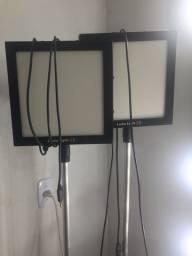 Kit Soft Box Iluminador Painel Led