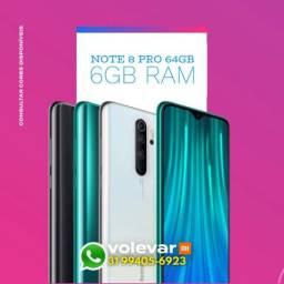 O MENOR PREÇO do BRASIL! Xiaomi NOTE 8 PRO 64GB 6GB Ram - Novo Lacrado Garantia - GLOBAL
