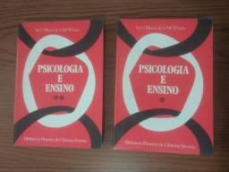 Psicologia e ensino - 2 volumes