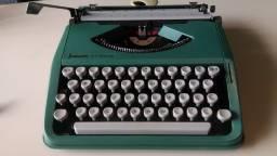 maquina de escrever portátil com estojo original