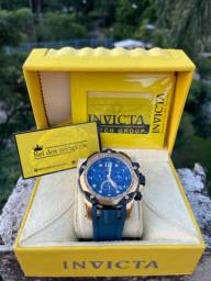 Invicta Excursion lançamento + caixa novo