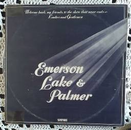 Lp Triplo Emerson Lake E Palmer disco vinil