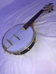 Banjo Marcelo Luthier luxo