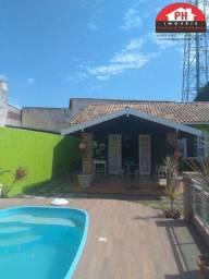 Charmosa Casa Mobiliada - Piscina & Área Gourmet - Cond. Orla Azul