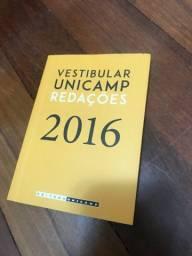 Vestibular Unicamp- redações 2016 - pouquíssimo usado