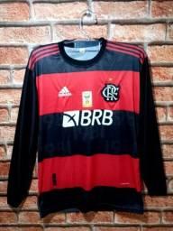 Camisa de manga do Flamengo