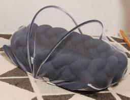 Ninho com mosquiteiro removível